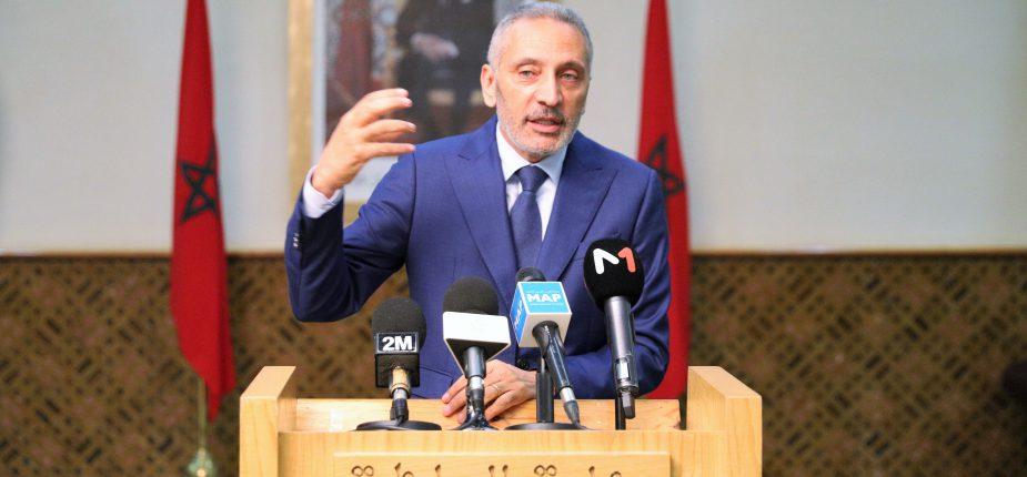 Moulay Hafid Elalamy, Ministre de l'Industrie, de l'Investissement, du Commerce et de l'Economie verte et numérique.