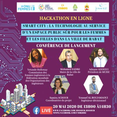 Rabat : Un hackathon pour un espace public sûr pour les femmes et les filles