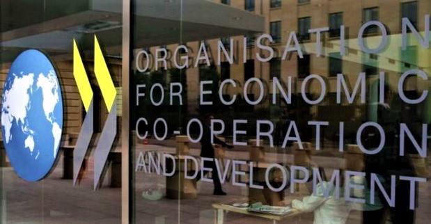 Net recul du PIB  des sept grandes économies de la zone OCDE