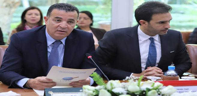 Chakib Alj et Mehdi Tazi, respectivement président et vice-président de la CGEM.