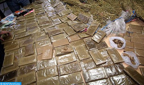 En plein confinement, saisie de plus de 1,7 tonne de chira à Casablanca