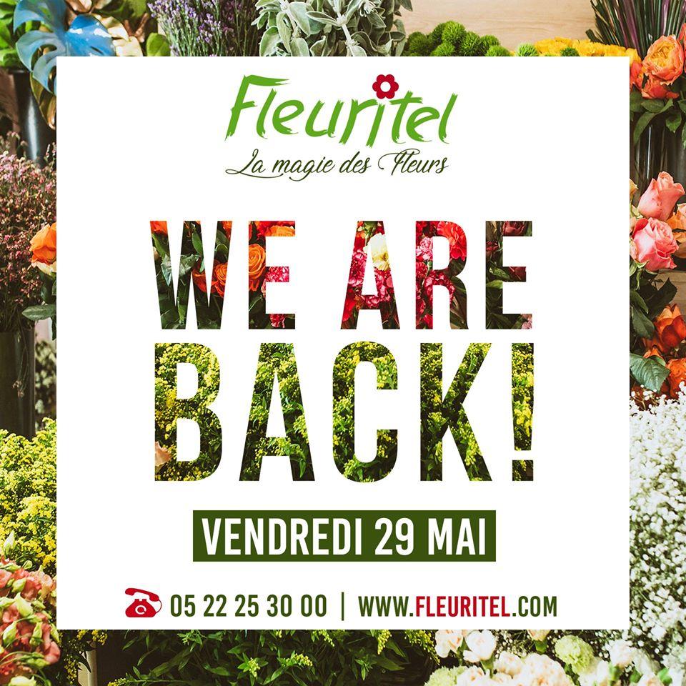 Fleuritel reprend du service: Flower Power à volonté et sur commande