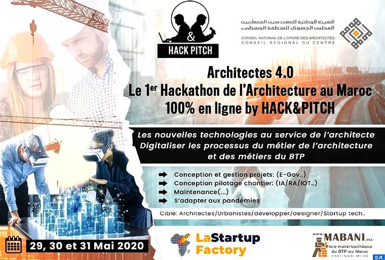 Voici les 3 projets innovants primés lors du Hackathon Architecture
