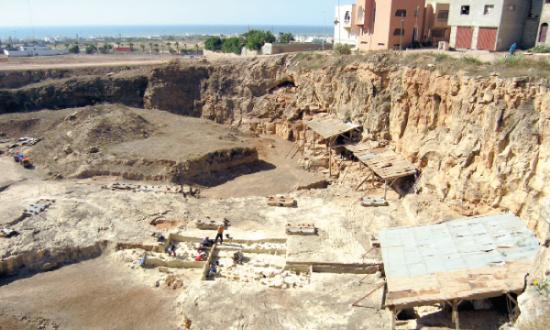 Le site archéologique «Thomas I», situé sur la route côtière en direction d'El Jadida, à proximité d'Ain Diab