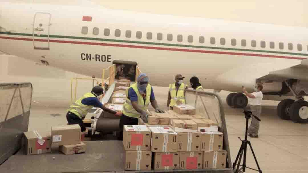 Les aides médicales marocaines au profit de la Mauritanie arrivées à Nouakchott