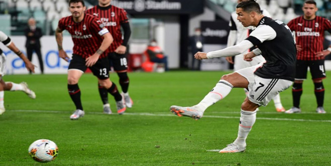 Le panalty raté par Ronaldo