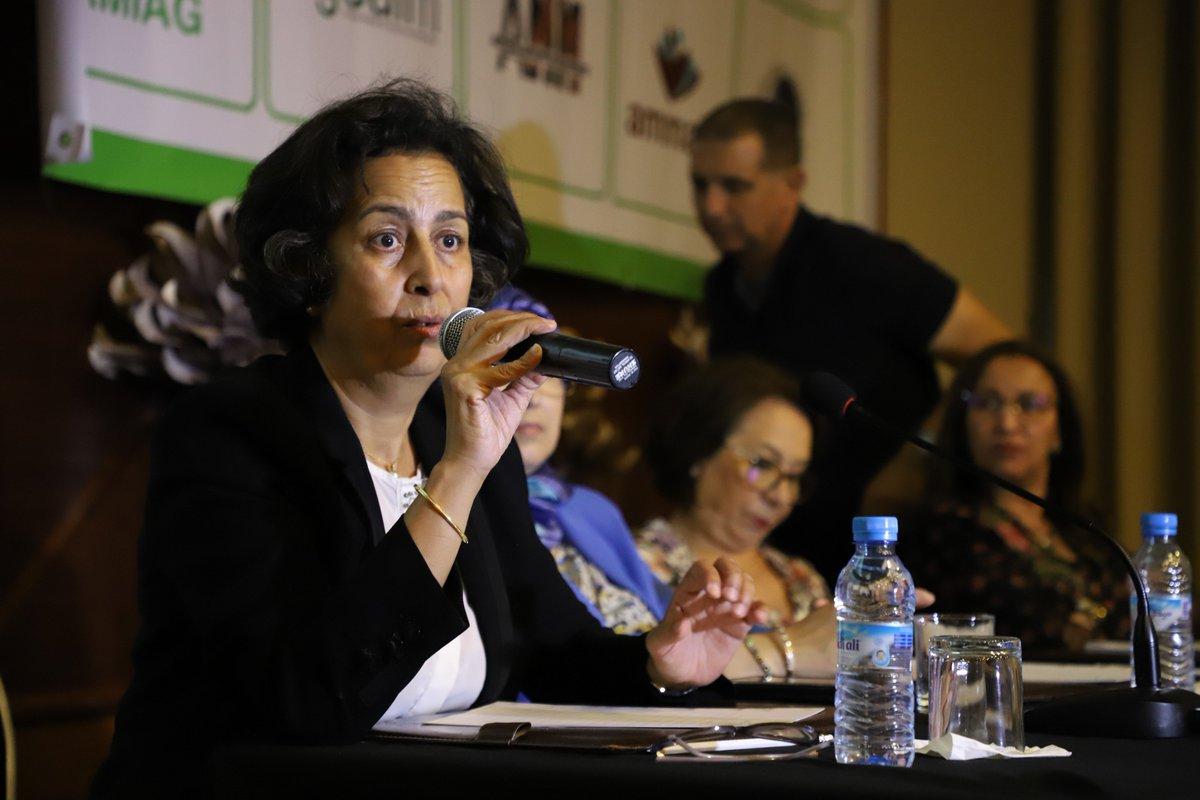 Dr Khadija Moussayer, spécialiste en médecine interne et en gériatrie, et présidente de l'Association Marocaine des Maladies Auto-Immunes et Systémiques.