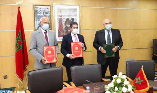 Signature d'une convention pour le développement de l'enseignement national