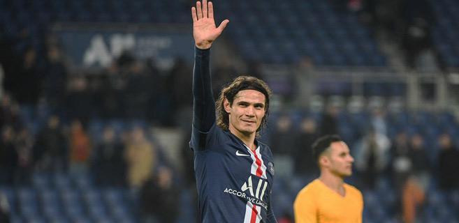 Ligue 1 : Cavani quitte le Paris Saint-Germain