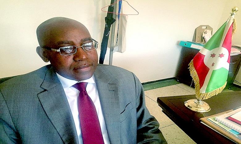 SE Kubwayo Isaie, Ambassadeur de Burundi au Maroc.