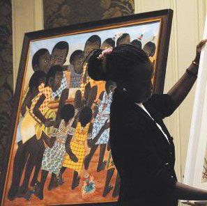 Casablanca : Vente aux enchères au profit des artistes africains