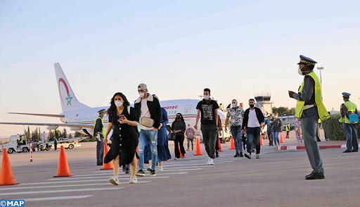 Marocains bloqués à l'étranger : Plus de 900 personnes arrivées à Marrakech