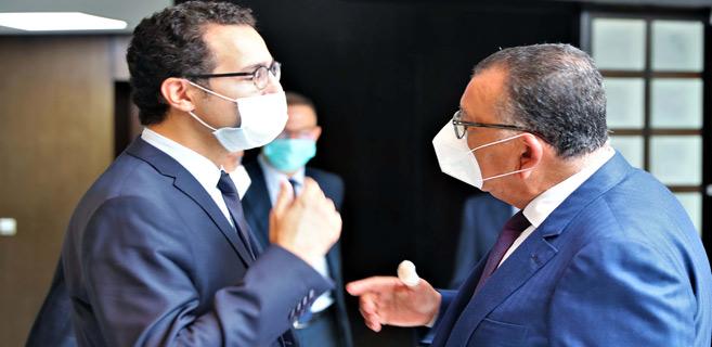 Réunion sur la situation de la presse écrite et électronique au Maroc