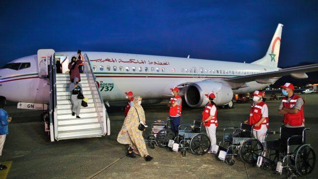 Le rapatriement des Marocains bloqués à l'étranger se poursuit