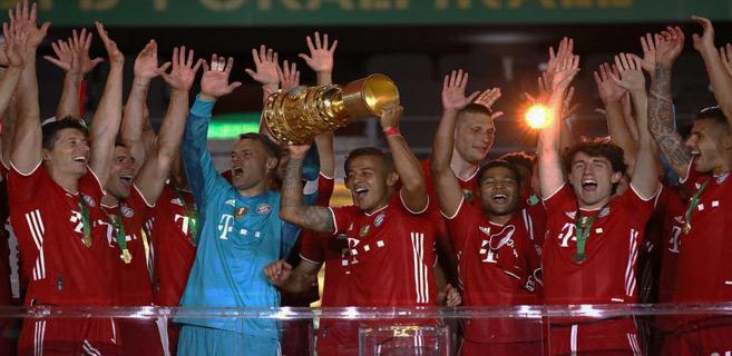Coupe d'Allemagne : Le Bayern se balade en finale et rêve de triplé