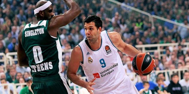 Basket : Felipe Reyes, 41 ans, renouvelle son contrat de joueur