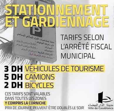 Parking à Casablanca : Les gilets jaunes ne feront plus leur loi
