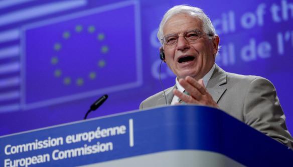 Josep Borrell, le chef de la diplomatie de l'Union européenne, sommé de présenter des options pour contrecarrer les visées israéliennes sur la Cisjordanie.