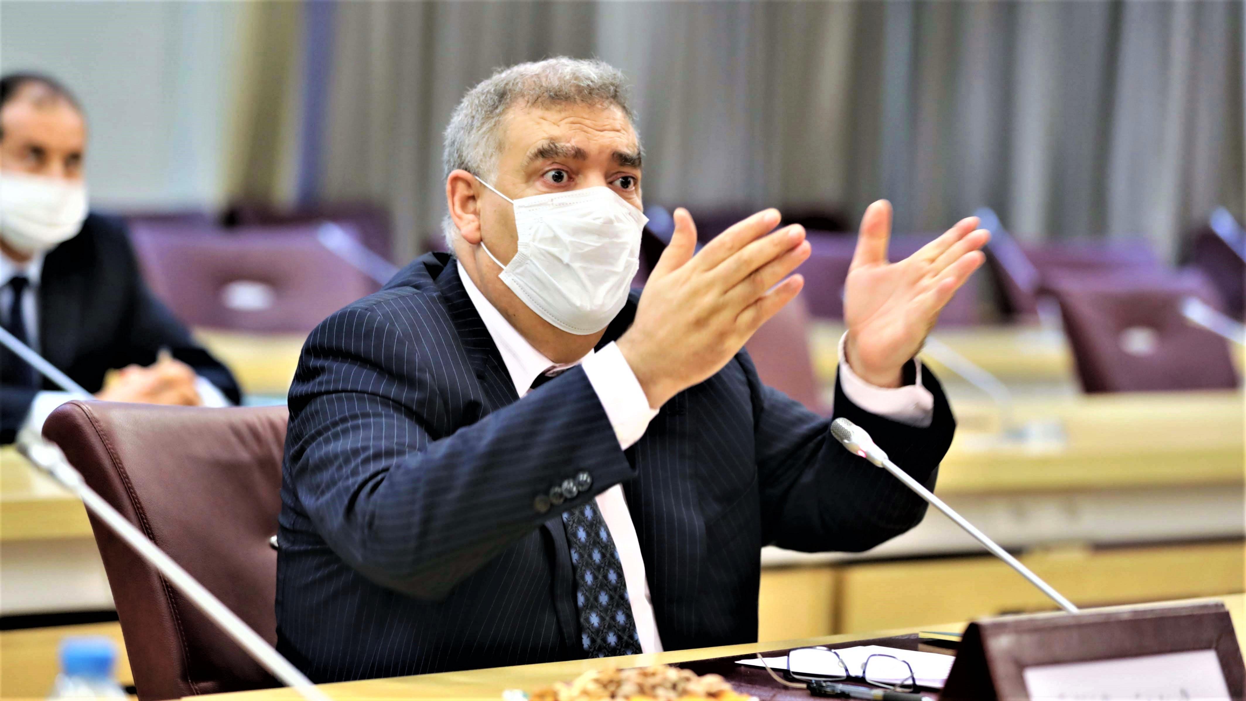 Abdelouafi Laftit, ministre de l'Intérieur.
