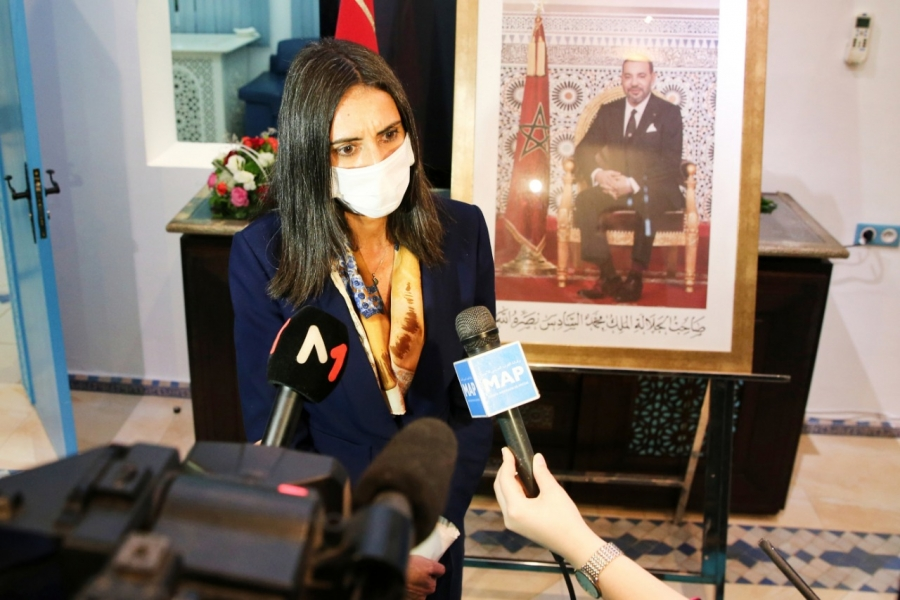 Nadia Fettah Alaoui, ministre du Tourisme. (Ph. MAP)