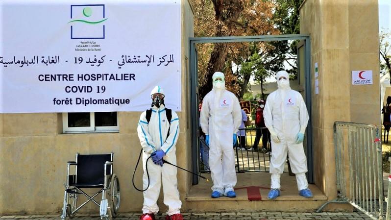 L'hôpital de campagne de Tanger a accueilli près de 1.000 cas confirmés depuis son ouverture