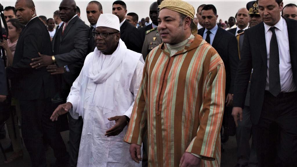 SM le Roi Mohammed VI et le Président Ibrahim Boubacar Keïta, le 18 février 2014.