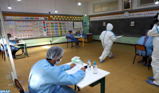 Des candidats infectés par la Covid-19 passent le concours d'accès à l'IRAT
