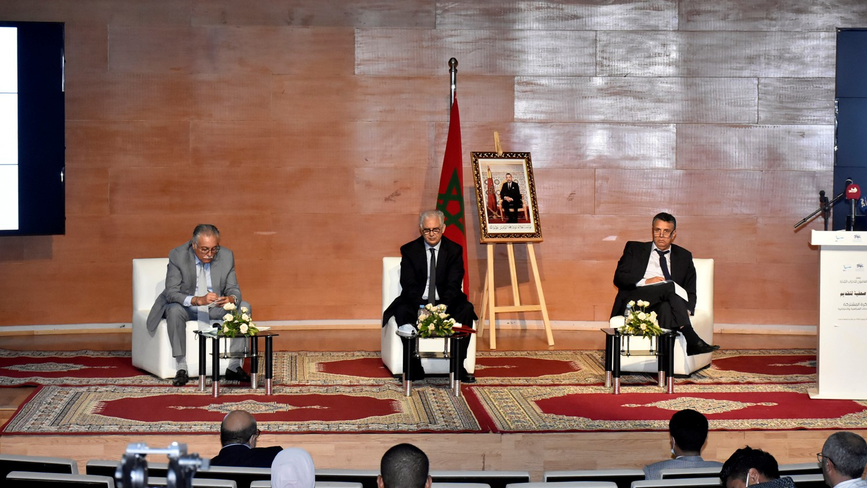 """Les trois partis de l'opposition appellent à """"l'instauration un nouveau pacte politique"""" (Ph. Chkirate)"""