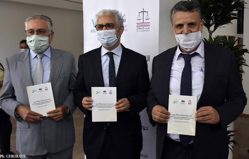 Mémorandum du PPS, du PAM et de l'Istiqlal : Réconcilier les Marocains avec la politique