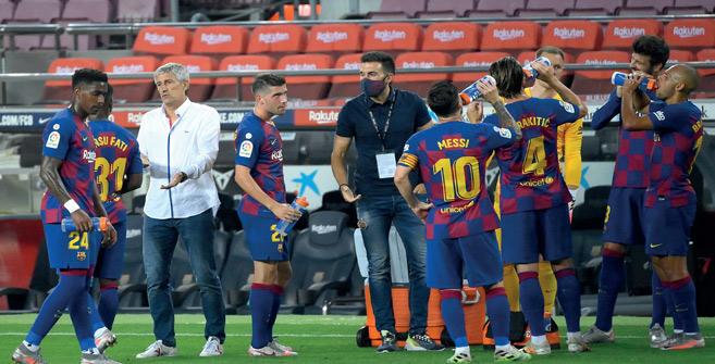 Liga : Quel avenir pour Setien à Barcelone ?