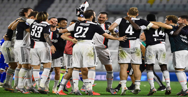 Calcio : La Juventus force 9 !