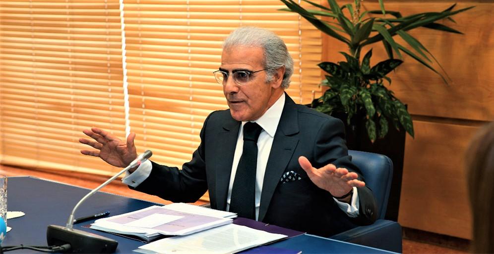 Abdellatif Jouahri, Wali de Bank Al-Maghrib (BAM).