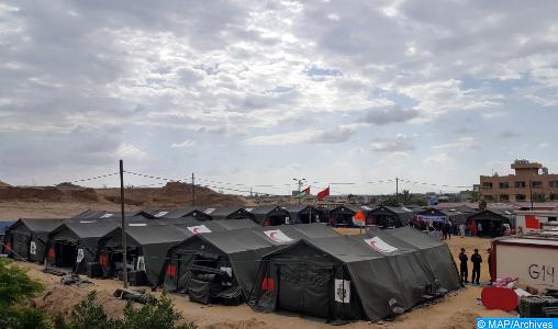 Fès : Un hôpital de campagne pour la prise en charge des cas légers Covid-19