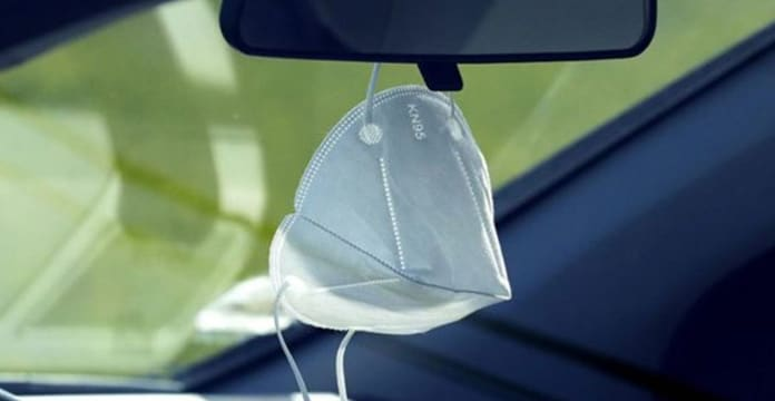 Port du masque de protection en voiture : le ministère de la Santé tranche