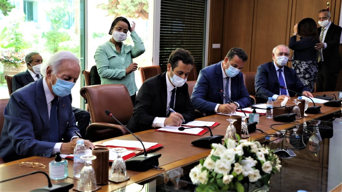 Benchaaboun, la CGEM et le GPBM signent le pacte pour la relance de l'économie et l'emploi