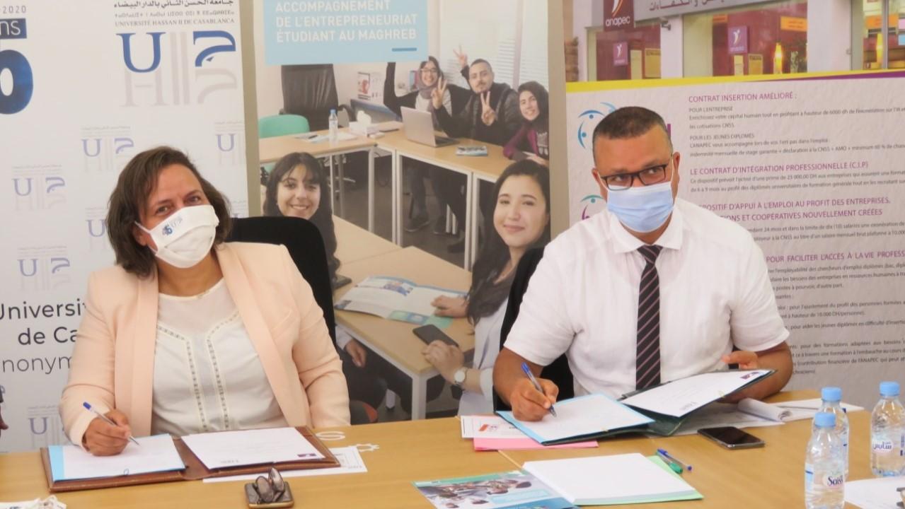 ANAPEC : Création d'une agence universitaire implantée à l'UH2C