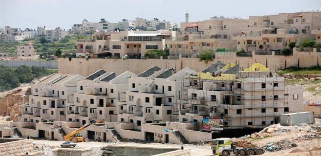 Palestine : Projet de plus de 1000 unités de colonies en Cisjordanie