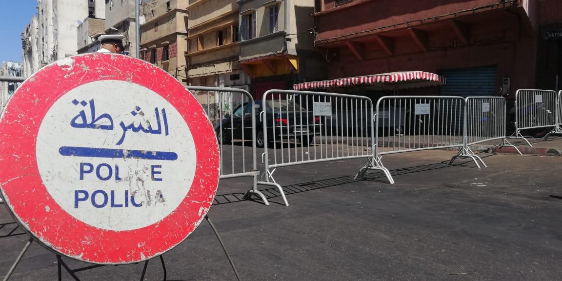 Casablanca: Bouclage d'artères et de quartiers à ANFA