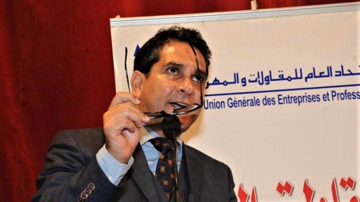 Ahmed Afilal El Alami Idrissi, président de l'UGEP.