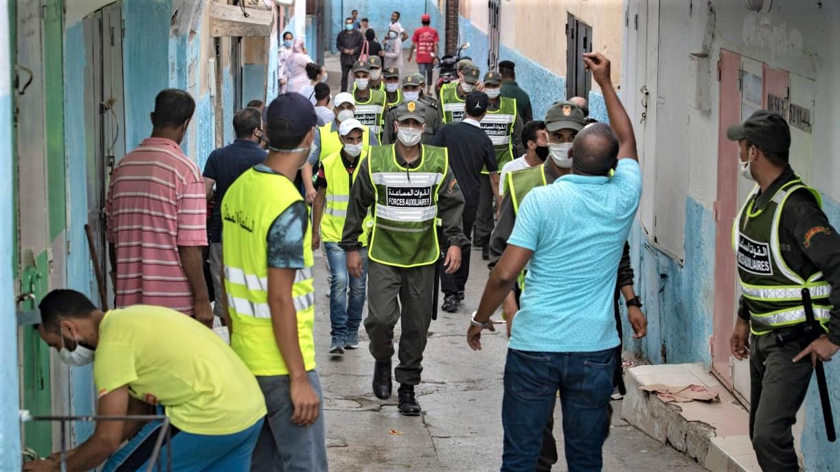 Rabat vit au rythme du confinement