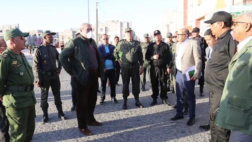 Covid-19: Les autorités locales intensifient les opérations de sensibilisation et de prévention à Dakhla