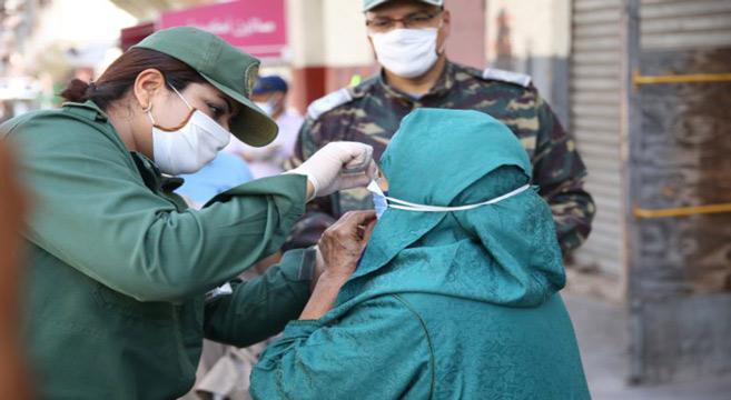 Covid-19 : Opérations de prévention à Tanger, Taroudant et Laâyoune