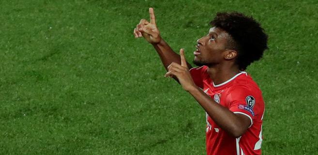 Buteur de la finale : Coman offre la Ligue des champions au Bayern