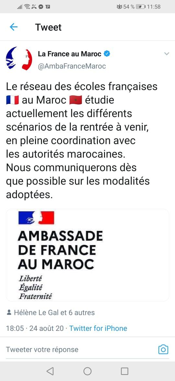Rentrée scolaire : Les écoles françaises étudient toujours les scénarios !