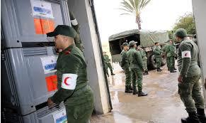 Les militaires à la rescousse des centres hospitaliers de Marrakech