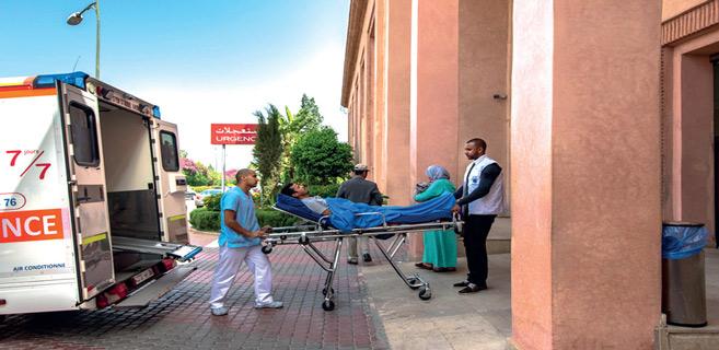 Le transfert inter-régions des patients Covid-19: Une carte inexploitée au Maroc