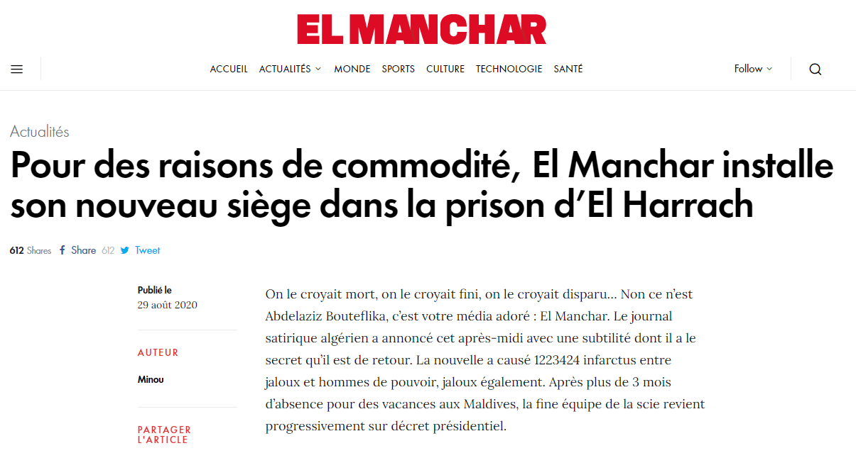 « El Manchar » is back !