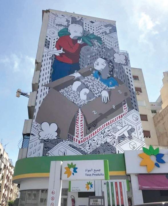 Casablanca : Âme effacée, la fresque murale de Millo a disparu