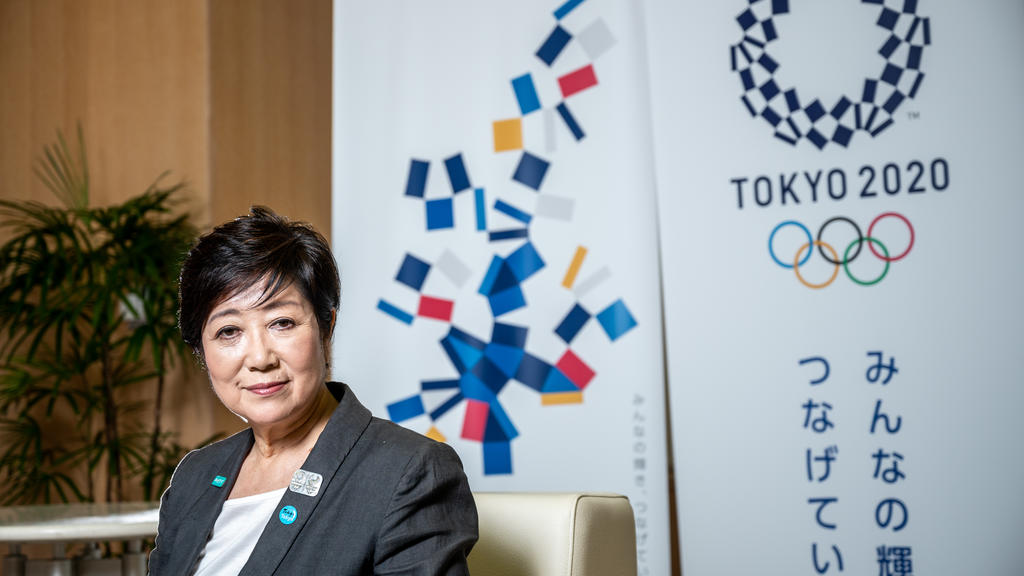La gouverneure de Tokyo, Mme Yuriko Koike