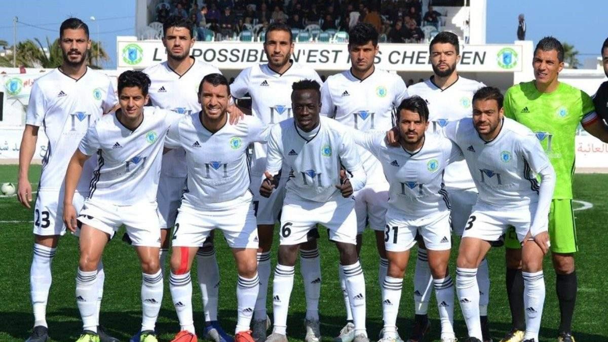 L'équipe tunisienne Chebba